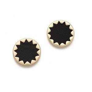 Halston Heritage 1960 Starburst Button Earring